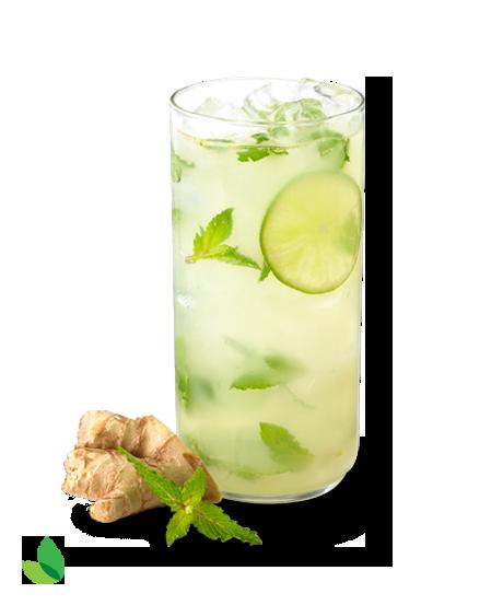 Ginger Mojito Mocktail Recipe With Truvia Natural Sweetener Mojito Mocktail Mocktail Recipe Ginger Mojito