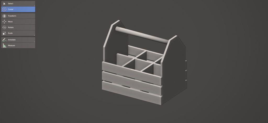 Book model blender