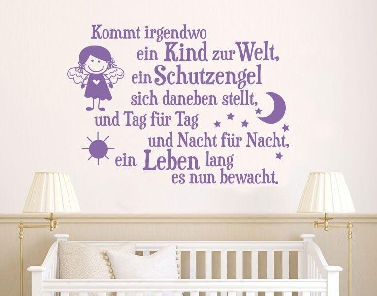 Wandtattoo Schutzengel Tag und Nacht #Wandtattoo #Schutzengel #Tag ...