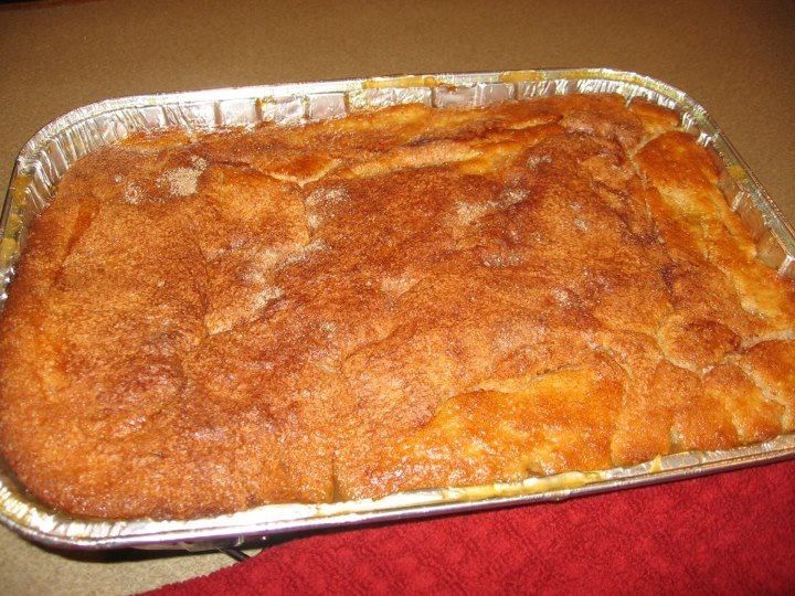 Old Fashion Peach Cobbler Preheat Oven To 400 Degrees In Metal
