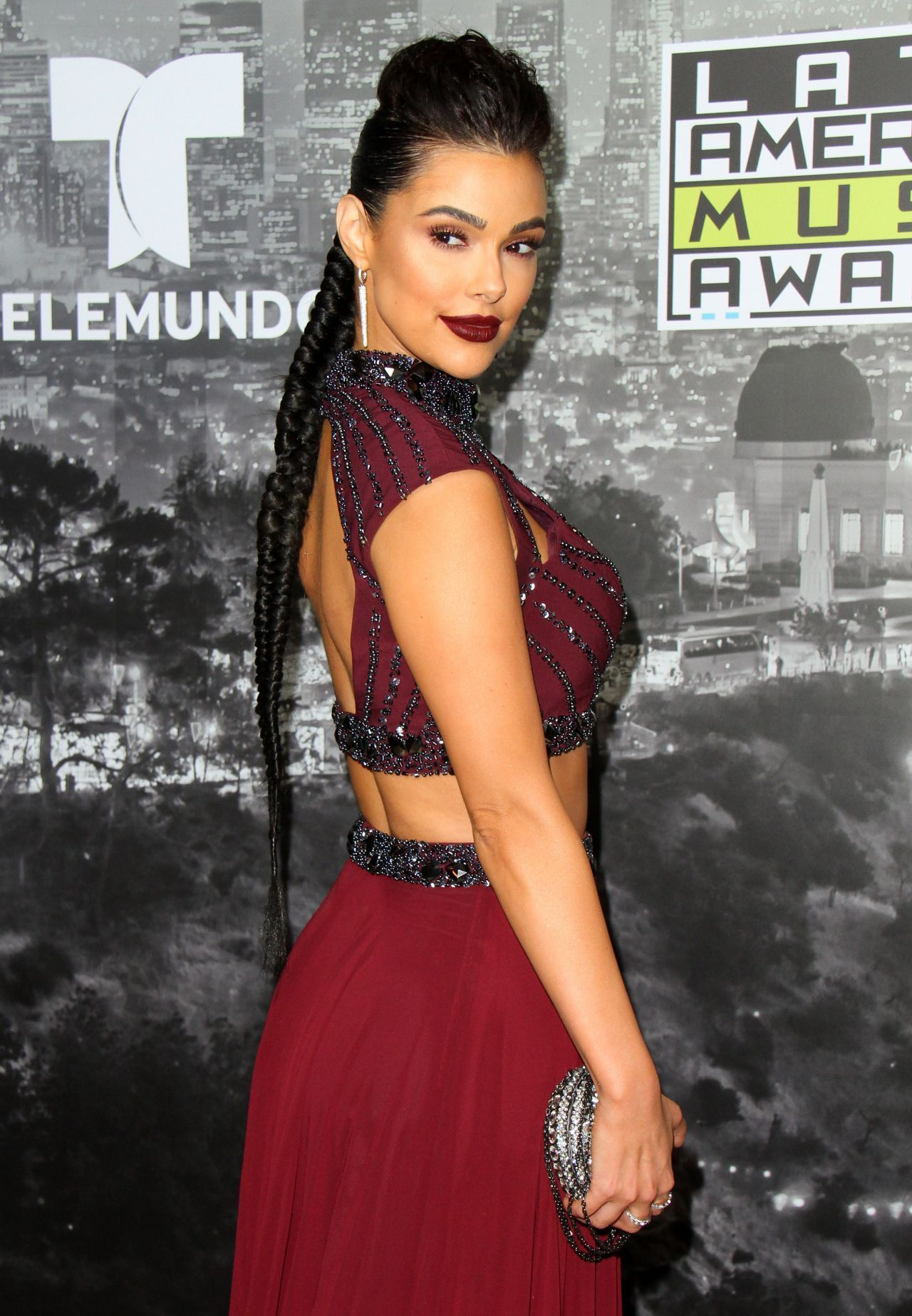Anabelle Acosta At The Latin American Music Awards 2017 Hollywood