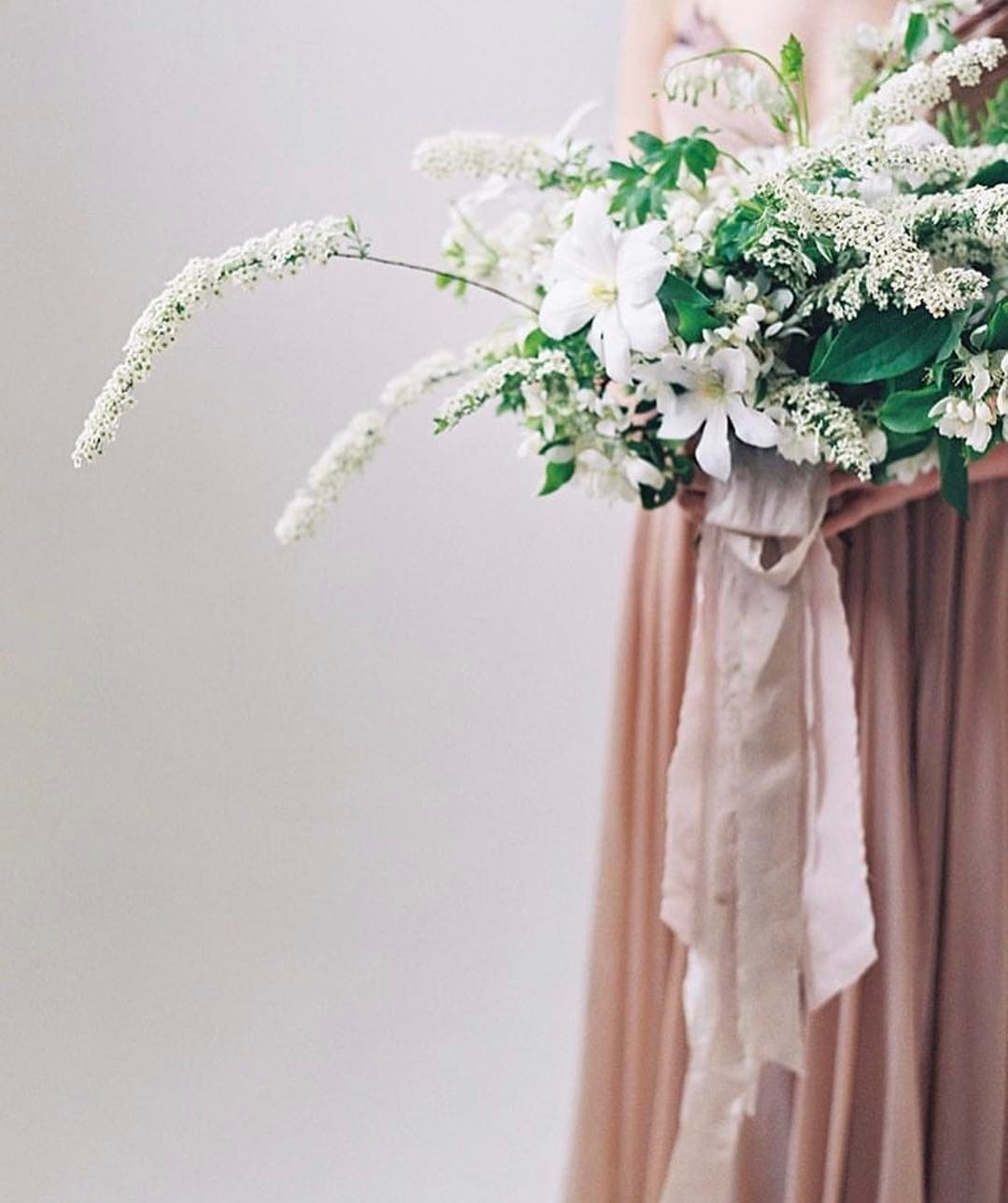 Soft green silk ribbon Ribbon for bouquet in grey green color