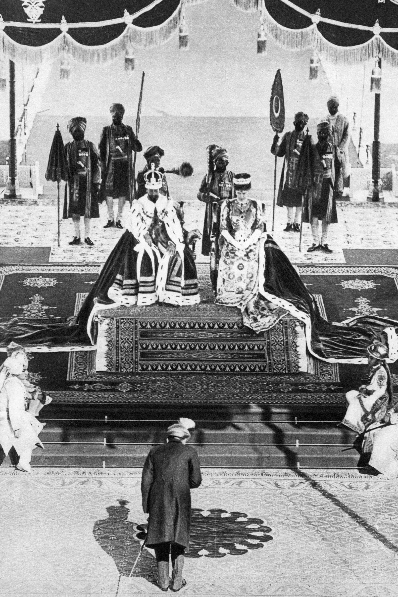 The British Royal Family In India Delhi Durbar Queen Mary Of England Queen Mary