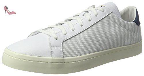 adidas Court Vantage, Baskets Basses Homme, Blanc Ftwr Blanc Ftwr