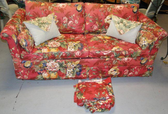 Delicieux Red Floral Sofa   Google Search