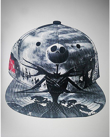 Nightmare Before Christmas Snapback Hat - Spencer s  9975a81e09a9