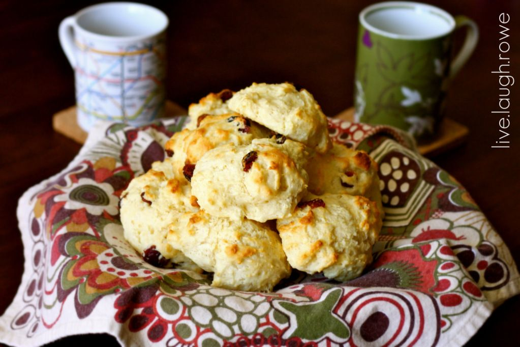 Cranberry scones....have to try!