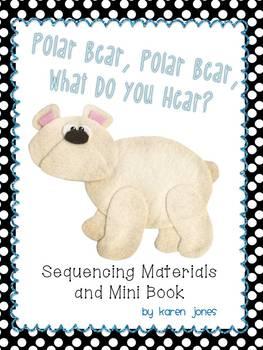 polar bear polar bear sequencing materials and mini. Black Bedroom Furniture Sets. Home Design Ideas