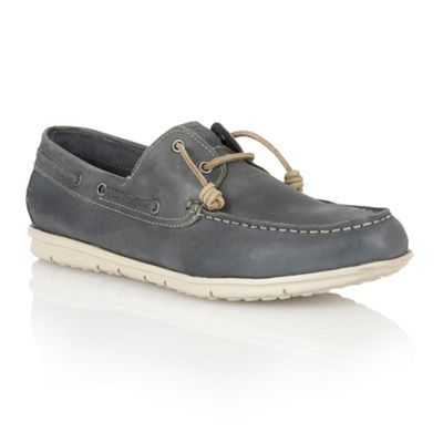 843dd0fdbbd Lotus Navy leather 'Maddock' mens shoes- at Debenhams.com | Boat ...