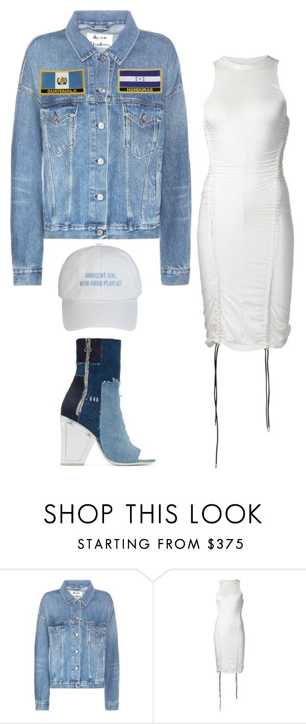 """Untitled #5670"" by stylistbyair ❤ liked on Polyvore featuring Acne Studios, Y/Project and Off-White"