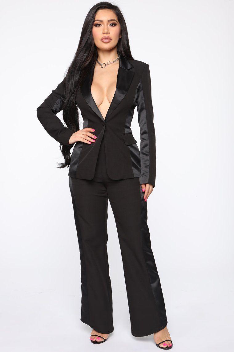 Miley Suit Set Black in 2020 Fashion nova outfits