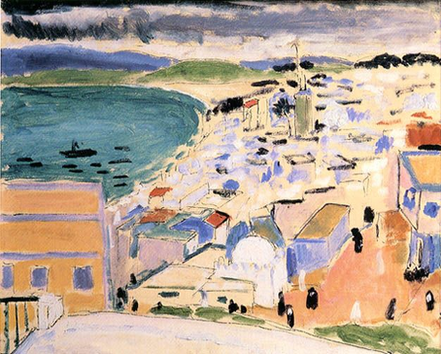 henri matisse 1869 1954 vue sur la baie de tanger printemps 1912 huile plume et encre sur. Black Bedroom Furniture Sets. Home Design Ideas