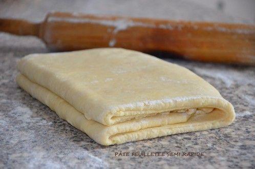 pâte feuilletée semi rapide de Mercotte | Le Sucré Salé d'Oum Souhaib #patefeuilleteerapide