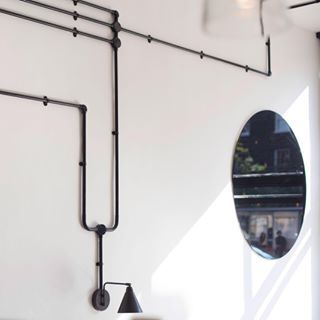Fantastic Conduit Wiring Black House Plans Cafe Interior Design Cafe Wiring Cloud Hisonuggs Outletorg