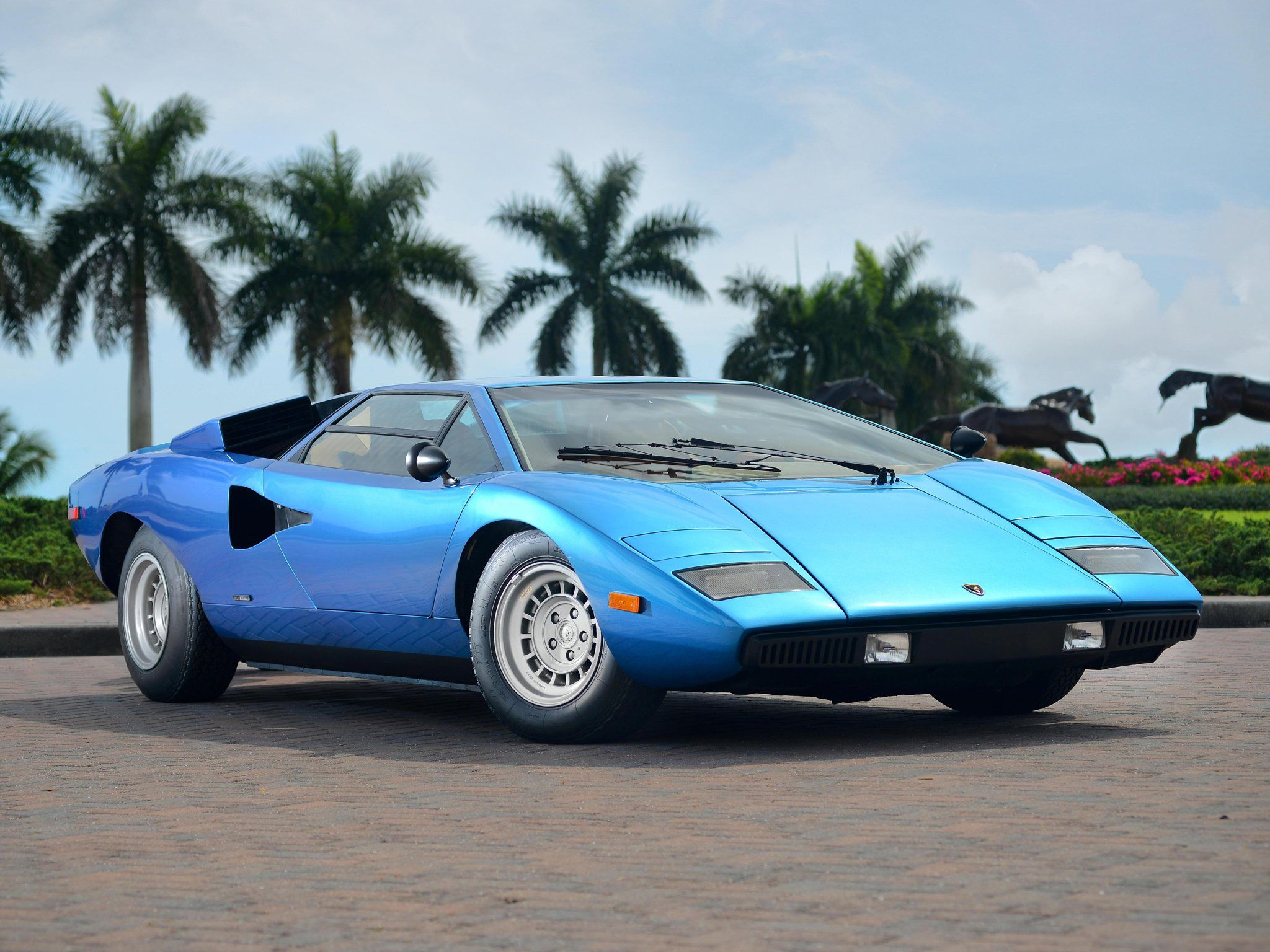 1975 Lamborghini Countach Lp400 Periscopica Bertone Us Spec Classic