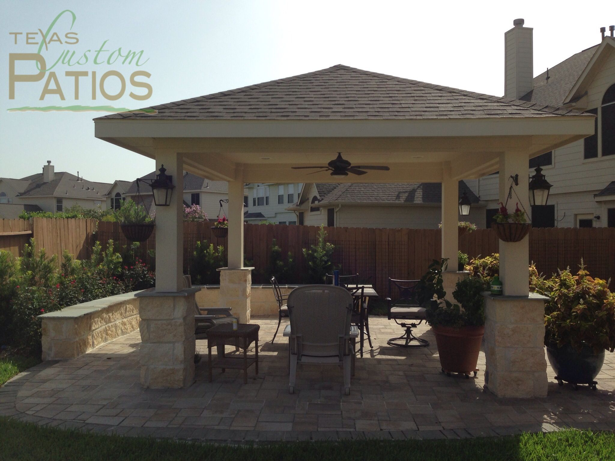 Freestanding patio cover pearland texas live free for Freestanding patio cover