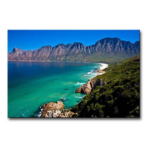 So Crazy Art® Blue Wall Art Painting Cape Town Coast Beach Mountain Rock Pictures Prints On Canvas Seascape The Picture Decor Oil For Home Modern Decoration Print For Girls Room So Crazy Art http://www.amazon.com/dp/B00M93Y1S8/ref=cm_sw_r_pi_dp_8-LDvb194RTEZ