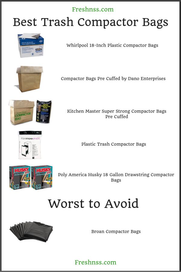 Best Trash Compactor Bags Compactors