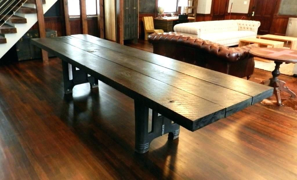 Large Wood Dining Room Tables Large Reclaimed Wood Table Large