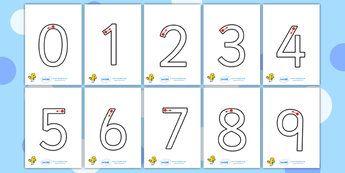 Number Formation Primary Resources Worksheet Page 2 Number Formation Printing Practice Writing Numbers
