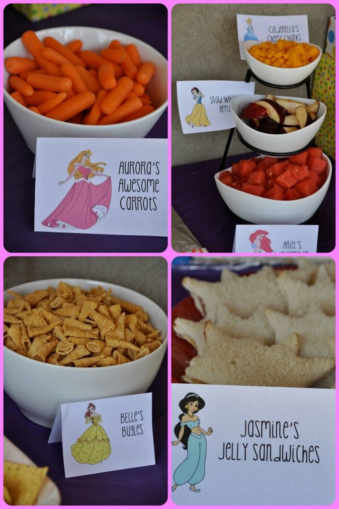 Princess Birthday Party Food Events To Celebrate