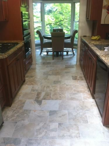 Daltile Folkstone Slate Sandy Beach 12 In X Porcelain Floor And Wall Tile 15 Sq Ft Case Fk981212hd1p6 At The Home Depot Mobile