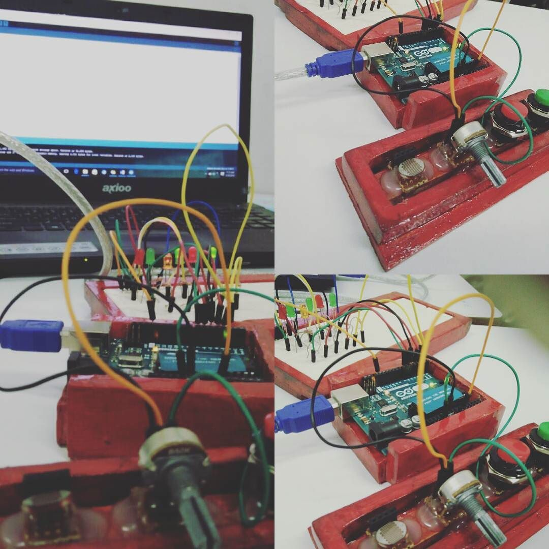 Led Control Using A Potentiometer Hashtag Aslabkece Wiring To By Bang Ambo