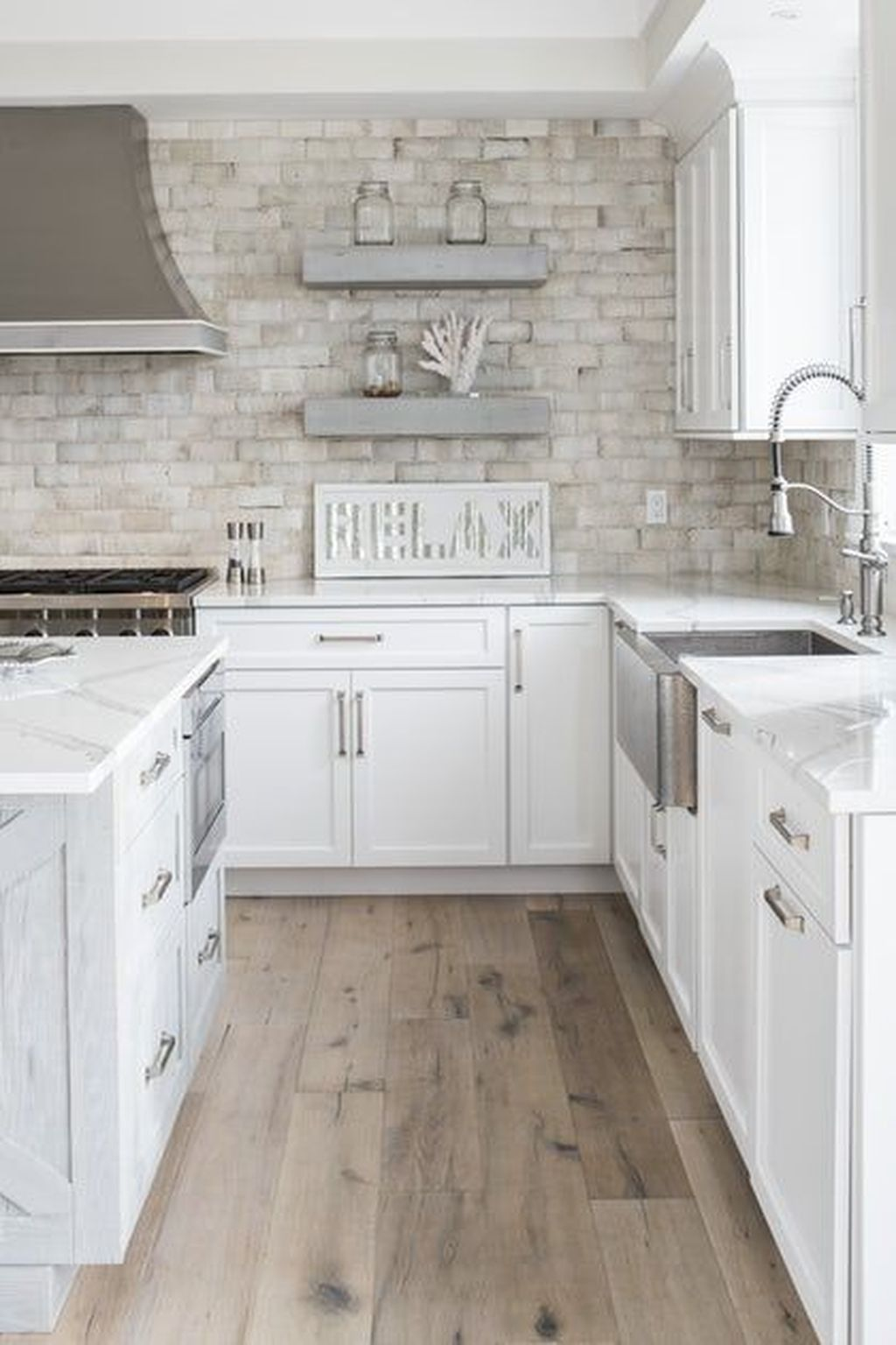 41 Best Kitchen And Bath Design Ideas Kitchens Kitchendesign Kitchenideas In 2020 Cottage Kitchen Design Beach House Kitchens Beach House Flooring