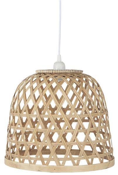 "Design Lampenschirm /""Kugel/"" aus Rattan geflochten Hängelampenschirm Lampe"
