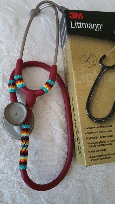 Beaded Littmann stethoscope $120+s&h | Med school here I