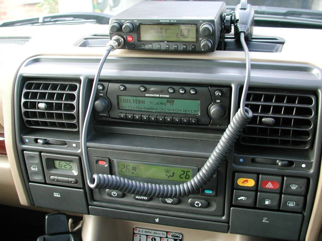 cb radio install land rover discovery 2 off road camping bug out vehicle  [ 1024 x 768 Pixel ]