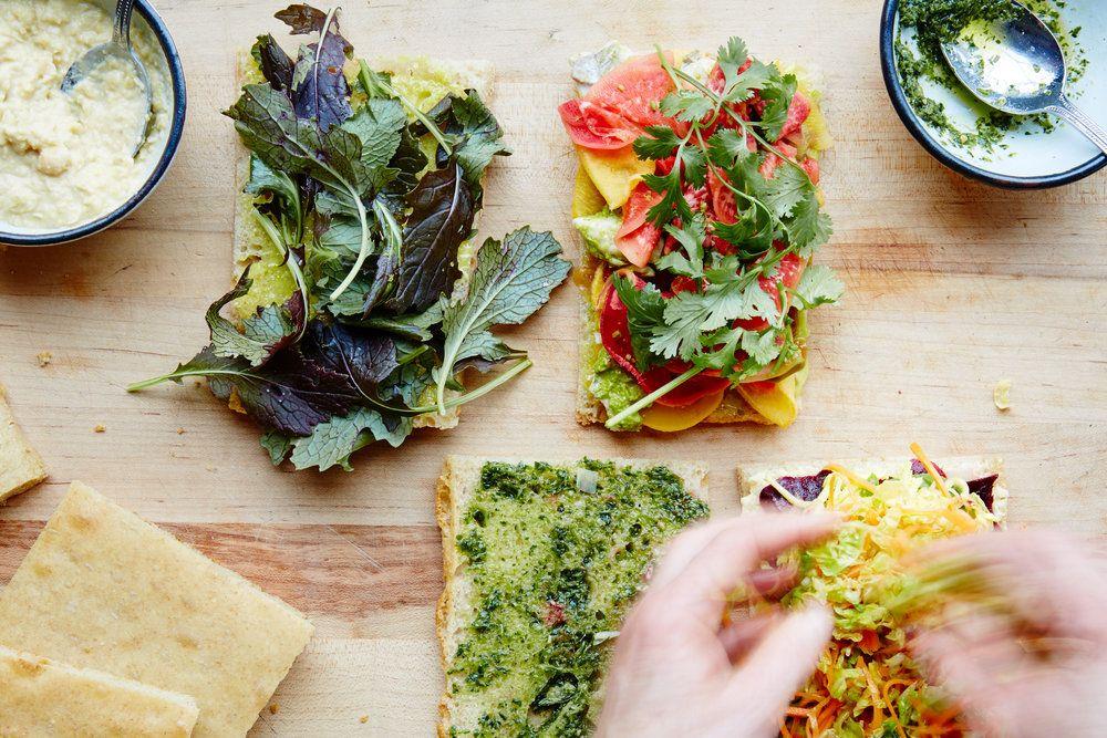 Standard Fare Berkeley Lunch, Food, Avocado toast