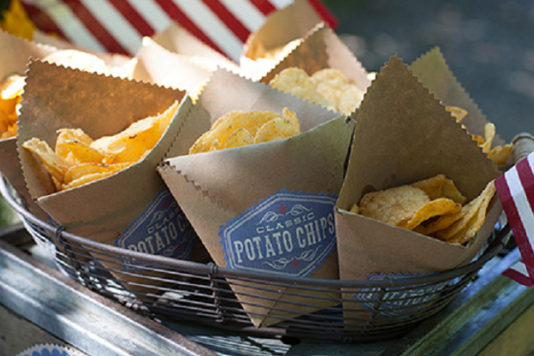 How to make chips in single serving bags!