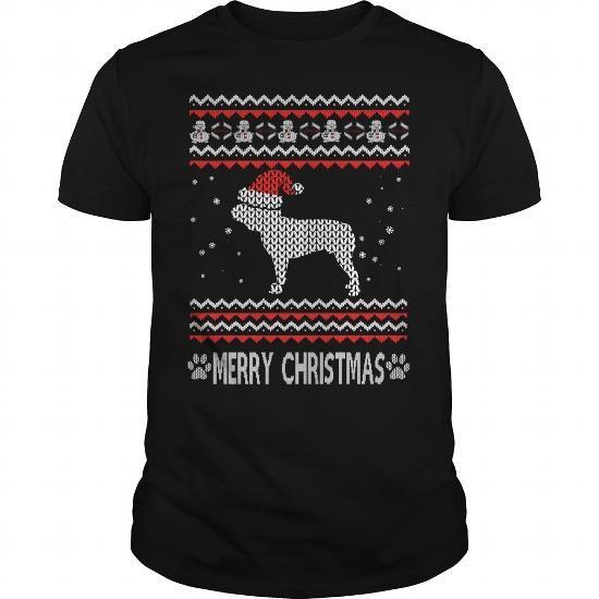 Ugly Christmas bulldog T-Shirts & Hoodies