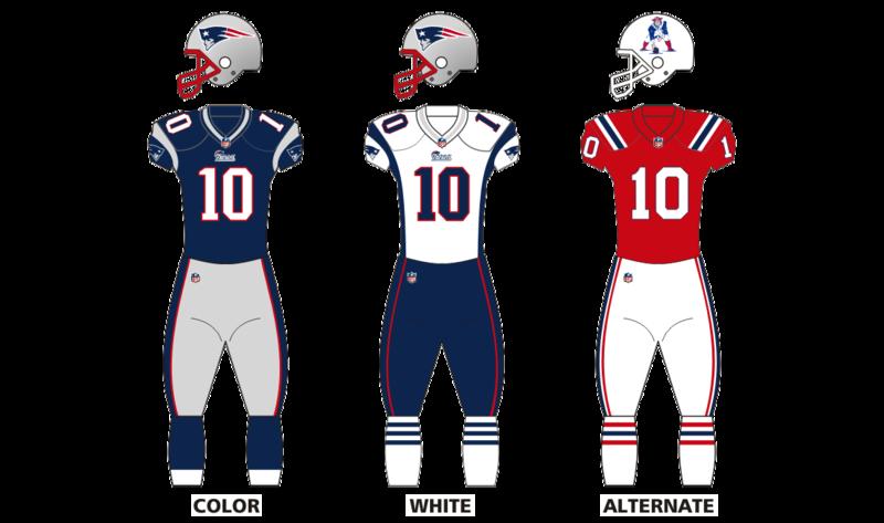 New England Patriots uniform set New england patriots