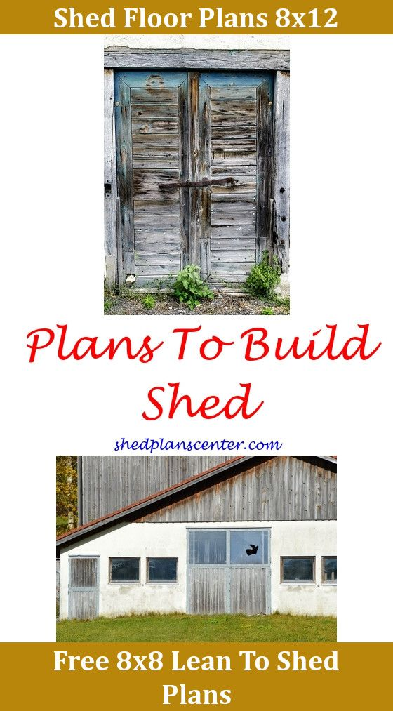 Diy Work Shed Plans – Free Garden Shed Plans 8X12