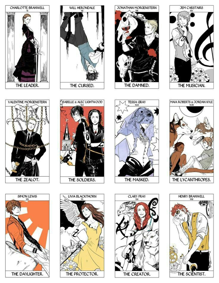 The Mortal Instruments | Cards
