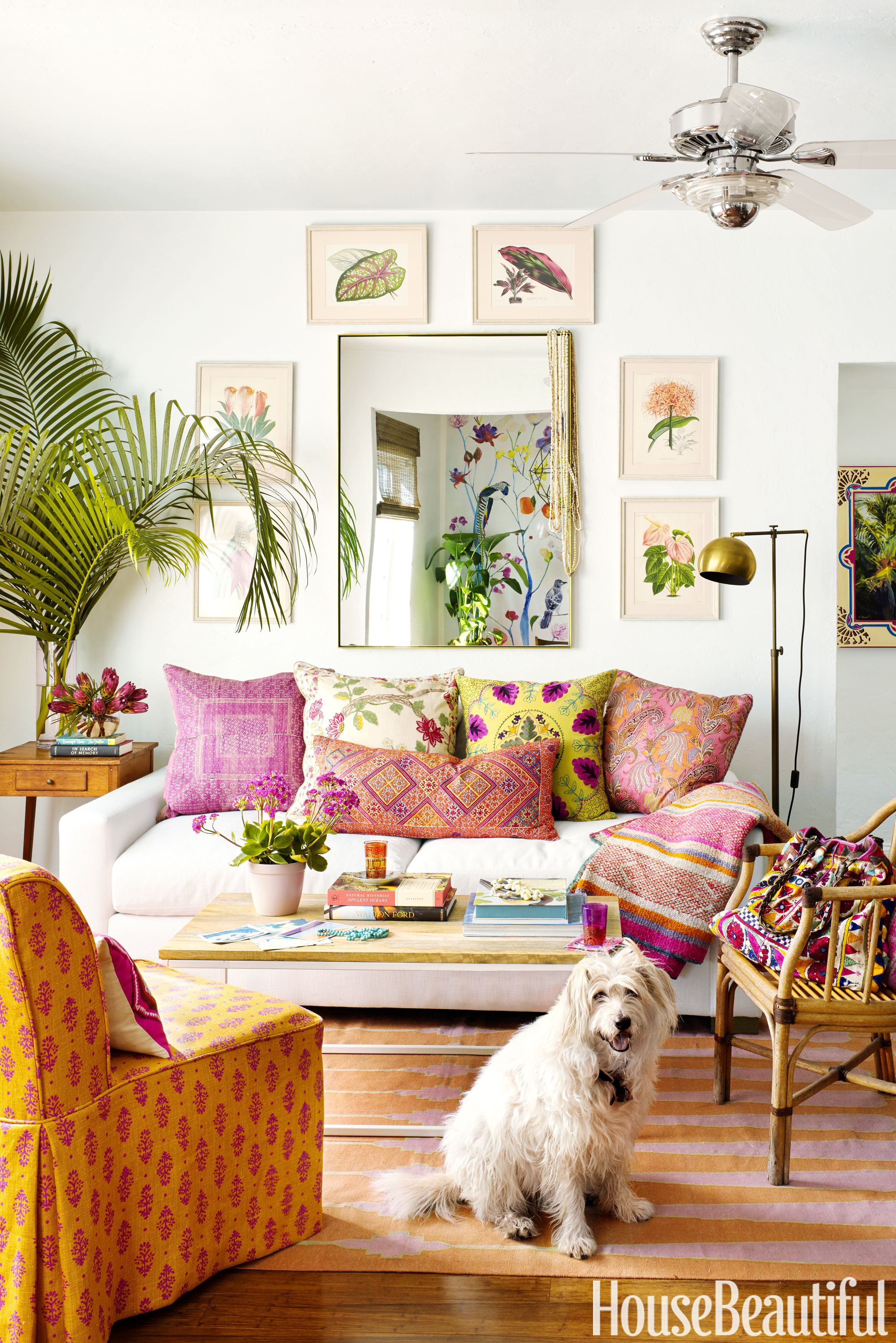 Small Boho Living Room: Boho Wall Decor Ideas In 2020