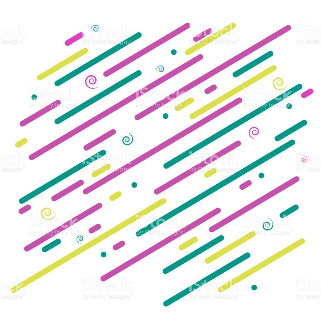 Abstract Bright Background Diagonal Graphic Colored Lines And