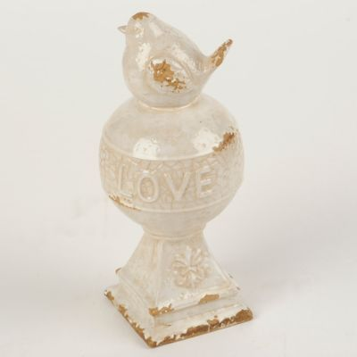Love Bird Orb Statue | Decorating, Organisations and Spaces