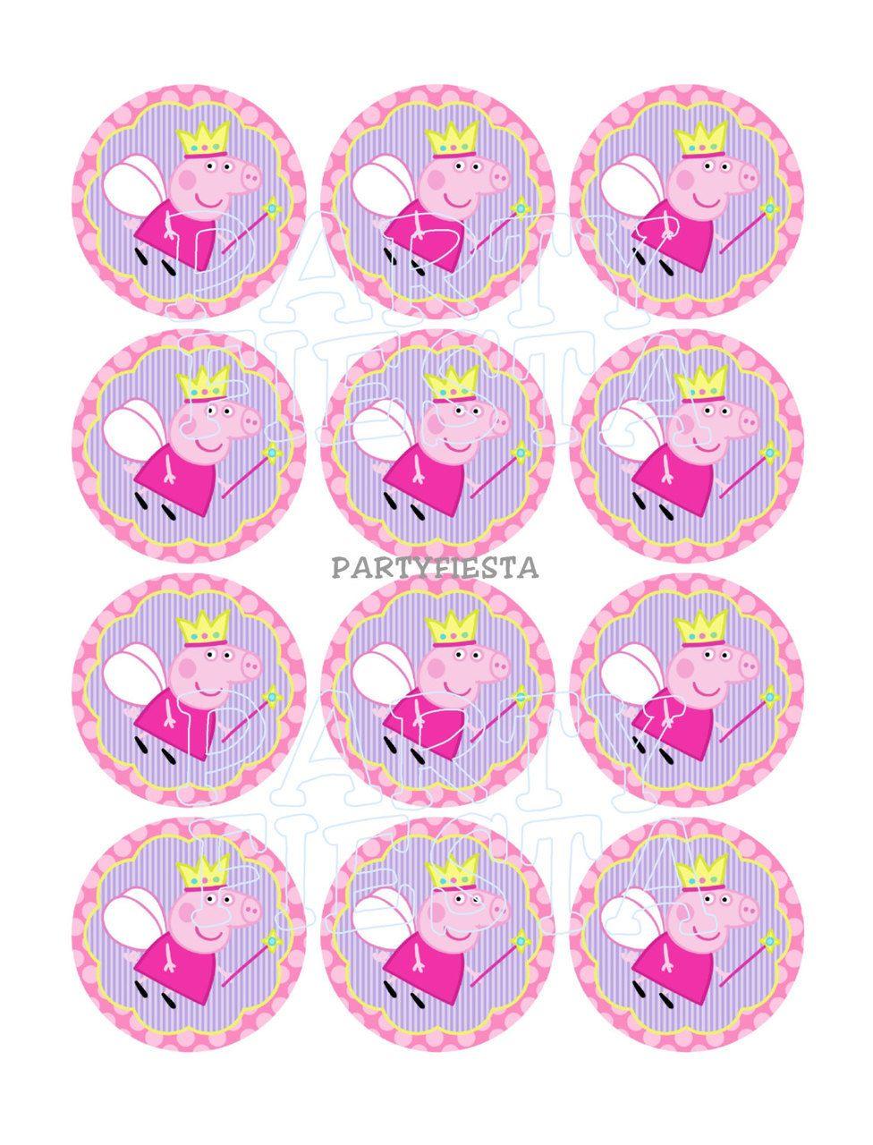 Картинки для капкейков с днем рождения девочке