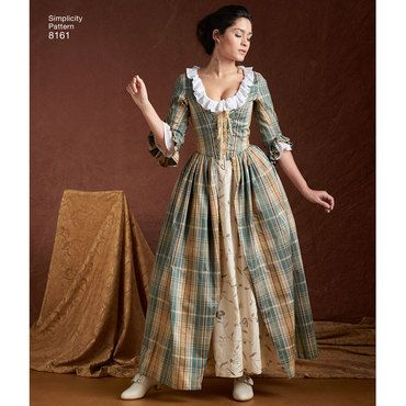 Simplicity Schnitt Historisches Kleid | Schnitte | Pinterest ...