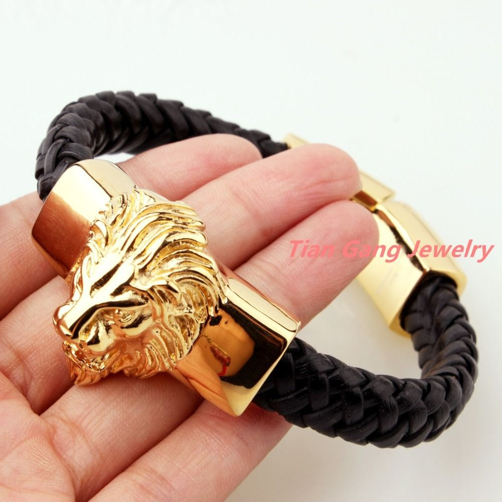konov stainless boys cross biker men steel amazon link heavy dp s jewelry com bracelets bracelet