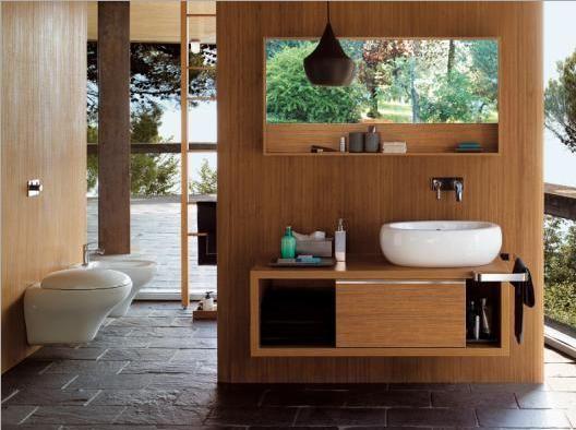 Bagno Stile Naturale : Color legno naturale! for the home case arredamento e legno