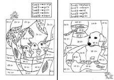 mathe ausmalbilder 2 klasse 06 arbeitsbl228tter