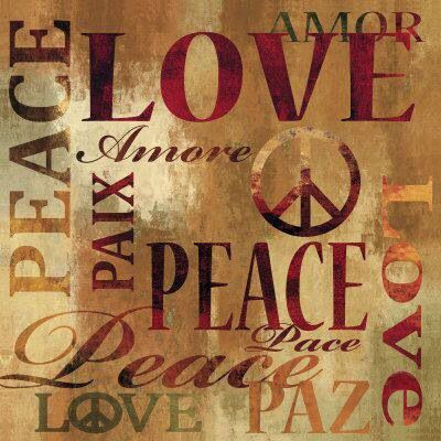 Love & Peace sign