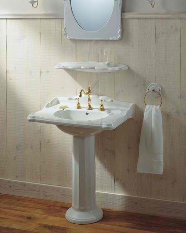 20 Fascinating Bathroom Pedestal Sinks Home Design Lover
