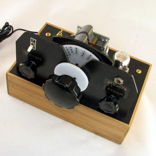 Dave S Homemade Radios One Loctal Tube Regenerative Receiver