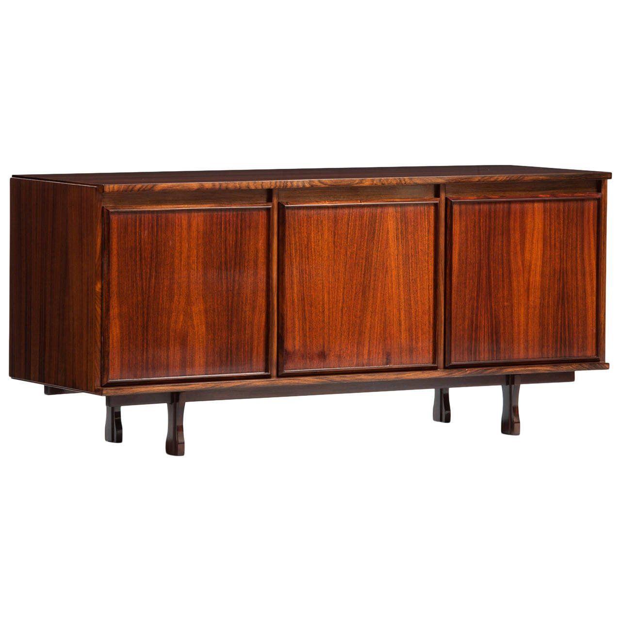 Giovanni ausenda rosewood sideboard for stilwood furniture storage