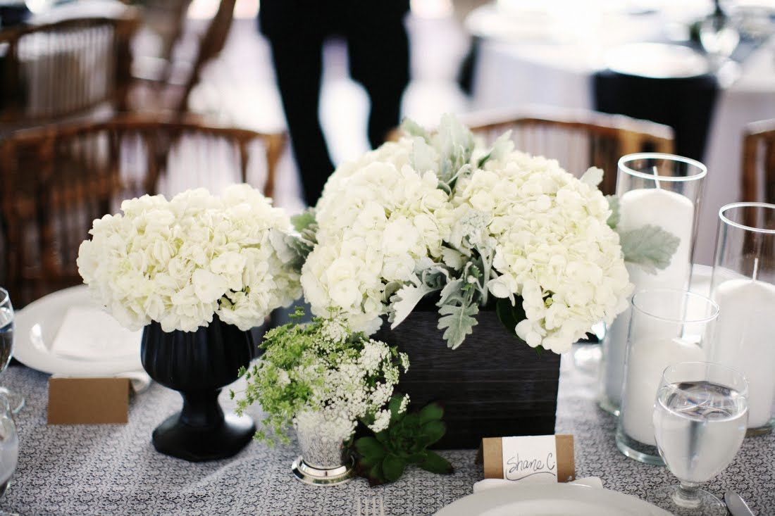Centerpieces For Weddings Pinterest | Hydrangea+Wedding+Centerpieces ...